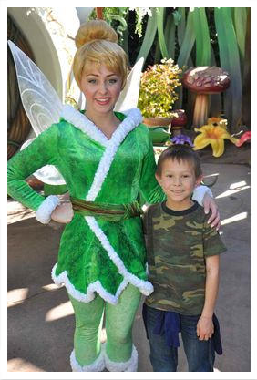 Josiah and Tinker Bell