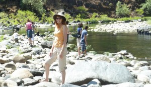 Jeri at Merced River Recreation Area. Click photo for full size.