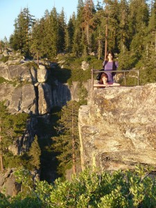 Nicole and Joanna at Taft Point