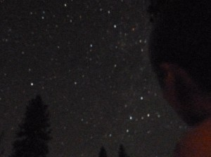 Tim Stargazing. Click photo for full size.