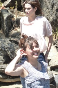 Victoria and Sarah at Merced River Recreation Area. Click photo for full size.