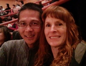 Tim and Jeri at the Pacific Youth Symphony Concert. Click for full size.