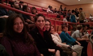 Victoria, Joanna, Sarah, Elizabeth, and Nicole at the Pacific Youth Symphony Concert. Click for full size.