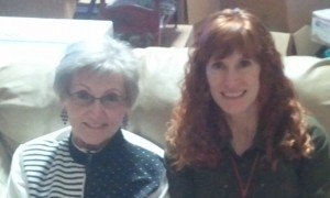 Grandma Stogdill and Jeri. Click photo for full size.