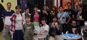 Everyone at Menchie's. Click photo for full size.