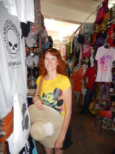 Jeri Shopping in Cabo. Click photo for full size.