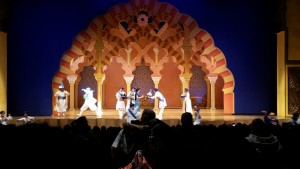 The Princess in Aladdin Show. Click photo for full size.