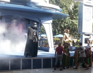Darth Vader appears. Click photo for full size.