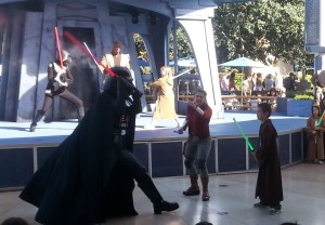 Darth Vader approaches Josiah. Click photo for full size.