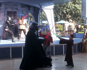 Darth Vader takes on Josiah. Click photo for full size.
