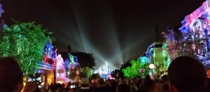 Disneyland Lights Up Main Street. Click photo for full size.