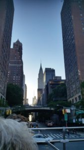 Famous Chrysler Building in the background. Click photo for full size.