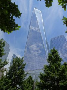 One World Trade Center (aka the Freedom Tower). Click photo for full size.