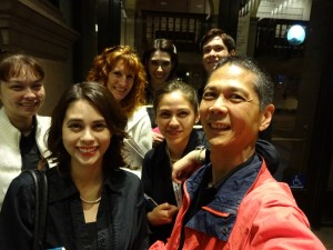 Outside Carnegie Hall after the concert. Click photo for full size.