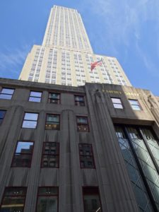 Passing by the Empire State Building. Click photo for full size.