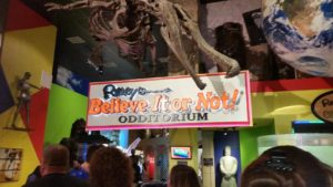 Ripley's Believe It or Not! Odditorium. Click photo for full size.