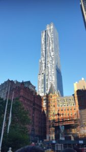 The Frank Gehry Apartment Tower. Click photo for full size.
