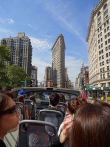 View the Flatiron Building (directly ahead). Click photo for full size.