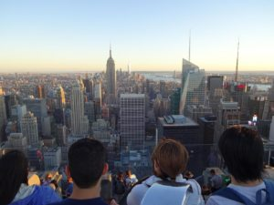 A view of Downtown Manhattan from the Top of the Rock. Click photo for full size.