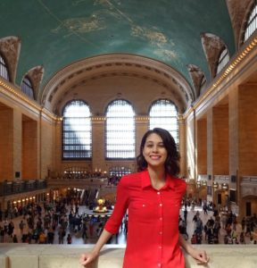 Joanna in Grand Central Terminal. Click photo for full size.