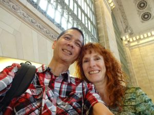 Tim and Jeri in Grand Central Terminal. Click photo for full size.