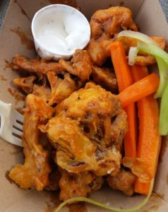 Buffalo Cauliflower Wings. Click photo for full size.