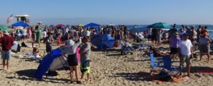Part of the HB Air Show Crowd. Click photo for full size.