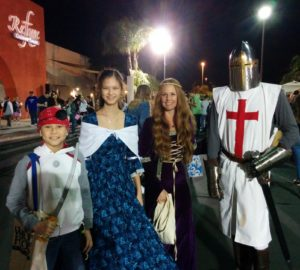 Josiah, Lizzie, Princess, and Crusader. Click photo for full size.