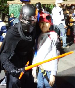 Kylo Ren and Josiah. Click photo for full size.