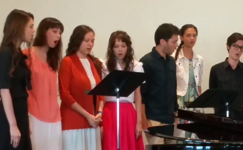 Singing for Sunday Morning Prelude